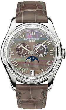 Patek Philippe,Patek Philippe - Complications Ladies Annual Calendar - White Gold - Watch Brands Direct