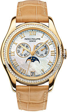 Patek Philippe,Patek Philippe - Complications Ladies Annual Calendar - Yellow Gold - Watch Brands Direct