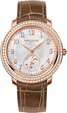 Patek Philippe,Patek Philippe - Complications Ladies Moon Phase - Rose Gold - Watch Brands Direct