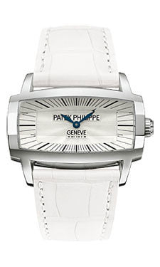 Patek Philippe,Patek Philippe - Gondolo Ladies - White Gold - 37.2 mm x 22.4 mm - Watch Brands Direct