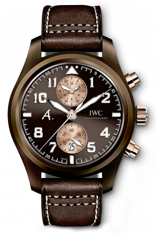 IWC,IWC - Pilots Watch Chronograph Edition The Last Flight - Limited Edition - Watch Brands Direct