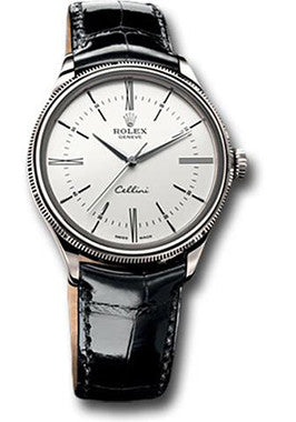 Rolex,Rolex - Cellini 39 - White Gold - Watch Brands Direct