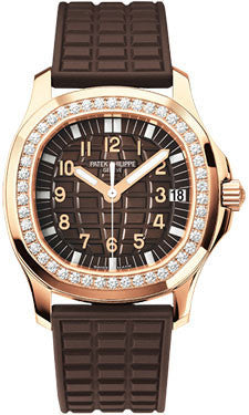 Patek Philippe,Patek Philippe - Aquanaut Ladies - Rose Gold - Watch Brands Direct