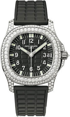 Patek Philippe,Patek Philippe - Aquanaut Ladies - White Gold - Watch Brands Direct