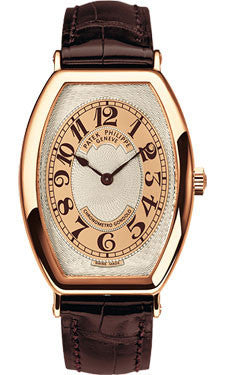 Patek Philippe,Patek Philippe - Gondolo Mens - Rose Gold - Watch Brands Direct