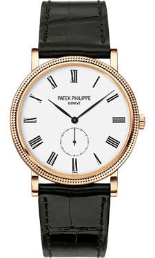 Patek Philippe,Patek Philippe - Calatrava 36mm - Rose Gold - Watch Brands Direct