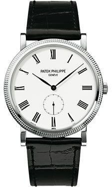 Patek Philippe,Patek Philippe - Calatrava 36mm - White Gold - Watch Brands Direct