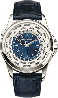 Patek Philippe,Patek Philippe - Complications World Time - Platinum - Watch Brands Direct