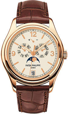 Patek Philippe,Patek Philippe - Complications Annual Calendar - Rose Gold - Leather - 39mm - Watch Brands Direct