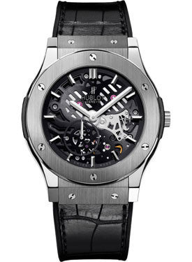 Hublot,Hublot - Classic Fusion Ultra-Thin Skeleton Titanium - Watch Brands Direct