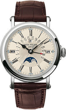 Patek Philippe,Patek Philippe - Grand Complications Perpetual Calendar Moonphase - 38 mm - Watch Brands Direct