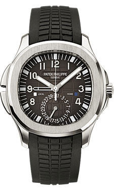 Patek Philippe,Patek Philippe - Aquanaut Mens Dual Time - Watch Brands Direct