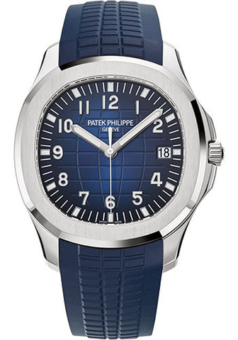 Patek Philippe - Aquanaut Mens - White Gold