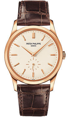 Patek Philippe,Patek Philippe - Calatrava 37mm - Rose Gold - Watch Brands Direct