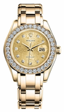 Rolex - Datejust Pearlmaster Lady Yellow Gold - Watch Brands Direct  - 9