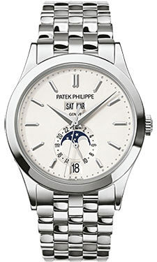 Patek Philippe,Patek Philippe - Complications Annual Calendar - White Gold - 38.5mm - Watch Brands Direct