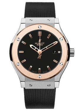 Hublot,Hublot - Classic Fusion 42mm Zirconium And Red Gold - Watch Brands Direct