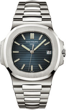 Patek Philippe,Patek Philippe - Nautilus Mens - Stainless Steel - 43 mm x 38 mm - Watch Brands Direct