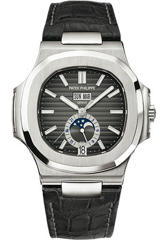 Patek Philippe - Nautilus Mens - Stainless Steel - 5726