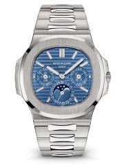 Patek Philippe - Nautilus Mens - White Gold - 5740