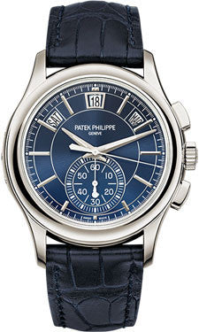 Patek Philippe,Patek Philippe - Complications Annual Calendar Chronograph - Platinum - Watch Brands Direct