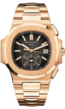 Patek Philippe,Patek Philippe - Nautilus Mens - Rose Gold - 40.5 mm - Watch Brands Direct