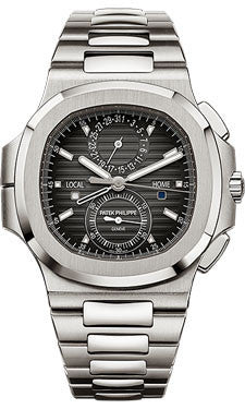 Patek Philippe,Patek Philippe - Nautilus Mens - Stainless Steel - Chronograph - Watch Brands Direct