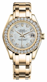 Rolex - Datejust Pearlmaster Lady Yellow Gold - Watch Brands Direct  - 13