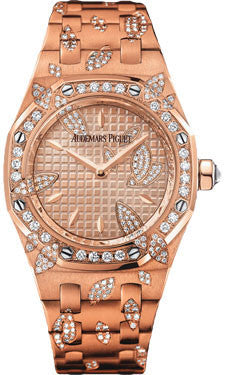 Audemars Piguet,Audemars Piguet - Royal Oak Lady Leaves - Watch Brands Direct