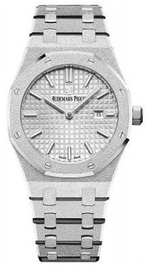 Audemars Piguet,Audemars Piguet - Royal Oak Offshore - Frosted White Gold - Watch Brands Direct