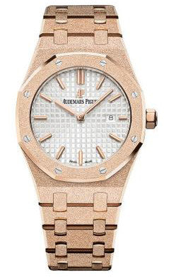 Audemars Piguet,Audemars Piguet - Royal Oak Offshore - Frosted Pink Gold - Watch Brands Direct