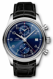 IWC,IWC - Portuguese Chronograph Classic - Stainless Steel - Watch Brands Direct