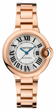 Cartier,Cartier - Ballon Bleu 33mm - Pink Gold - Watch Brands Direct