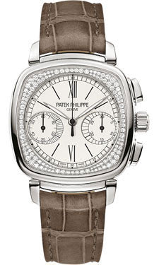 Patek Philippe,Patek Philippe - Complications Ladies First Chronograph - White Gold - Watch Brands Direct