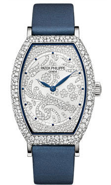 Patek Philippe,Patek Philippe - Gondolo Ladies - White Gold - 29.6 mm×38.9 mm - Watch Brands Direct