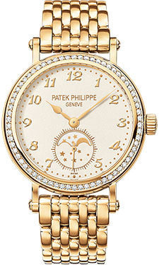 Patek Philippe,Patek Philippe - Complications Ladies Moon Phase - Yellow Gold - Watch Brands Direct