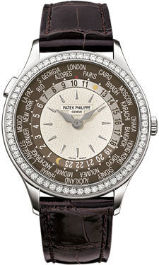 Patek Philippe,Patek Philippe - Complications Ladies World Time - White Gold - Watch Brands Direct