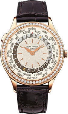 Patek Philippe,Patek Philippe - Complications Ladies World Time - Rose Gold - Watch Brands Direct