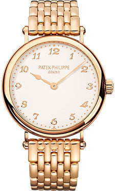 Patek Philippe,Patek Philippe - Calatrava 35mm - Rose Gold - Watch Brands Direct