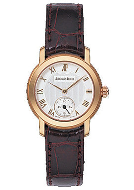 Audemars Piguet,Audemars Piguet - Jules Audemars Lady Small Seconds Pink Gold - 27mm - Watch Brands Direct
