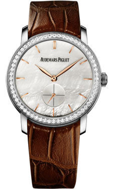 Audemars Piguet,Audemars Piguet - Jules Audemars Lady Small Seconds White Gold - 33mm - Watch Brands Direct