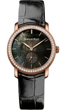 Audemars Piguet,Audemars Piguet - Jules Audemars Lady Small Seconds Pink Gold - 33mm - Watch Brands Direct
