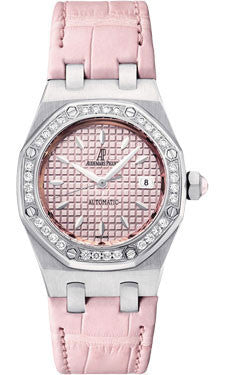 Audemars Piguet,Audemars Piguet - Royal Oak Lady Self Winding 35mm - Stainless Steel - Watch Brands Direct