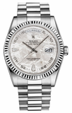 Rolex - Day-Date President White Gold - Fluted Bezel - Watch Brands Direct  - 10