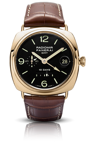 Panerai - Radiomir 10 Days GMT - Pink Gold - 45mm - Watch Brands Direct