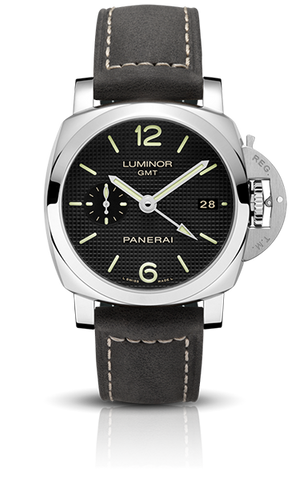Panerai - Luminor 1950 3 Days GMT Automatic Acciaio - 42mm - Watch Brands Direct