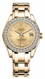Rolex - Datejust Pearlmaster Lady Yellow Gold - Watch Brands Direct  - 1