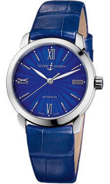 Ulysse Nardin,Ulysse Nardin - Classico Lady - Stainless Steel - Leather Strap - Watch Brands Direct