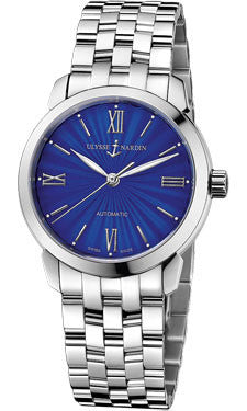 Ulysse Nardin,Ulysse Nardin - Classico Lady - Stainless Steel - Bracelet - Watch Brands Direct