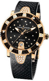 Ulysse Nardin,Ulysse Nardin - Marine Diver Lady 40mm - Rose Gold - Watch Brands Direct